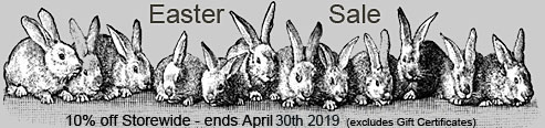 Easter Sale 10% off Storewide